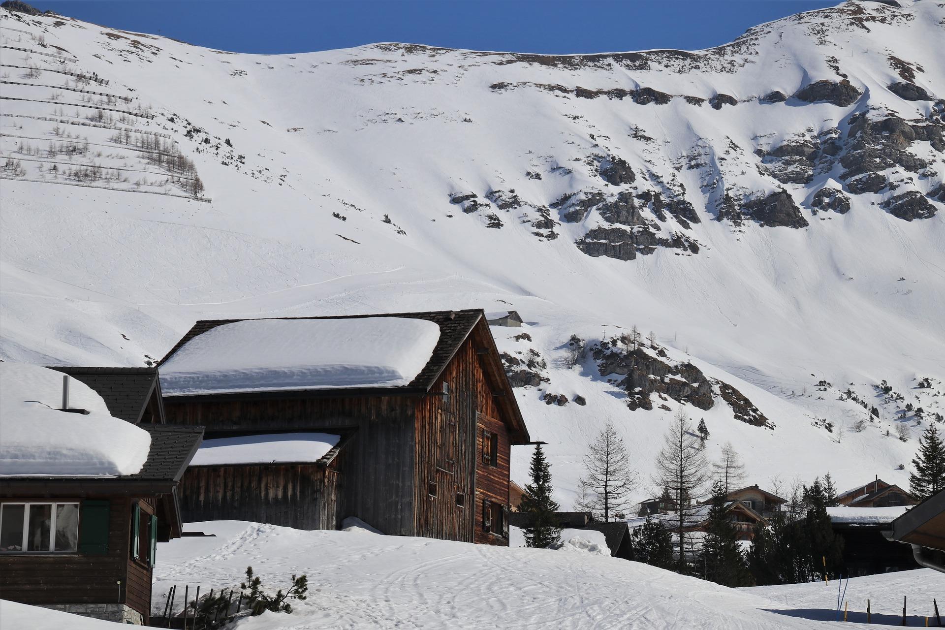 vialetti dalla neve