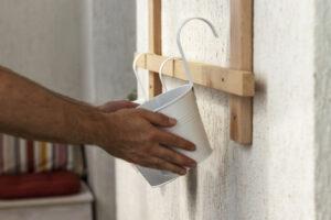 Serra da balcone fai da te in legno e policarbonato